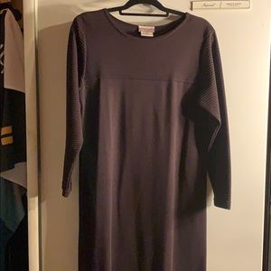 Purple Coldwater Creek PM Maxi Dress Long Sleeve